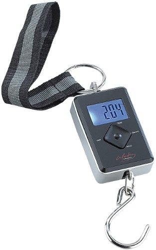 infactory Digitale Kofferwaage (0 - 35 kg) mit LC-Display