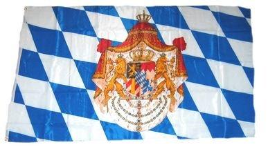 Fahne / Flagge Königreich Bayern 90 x 150 cm Flaggen