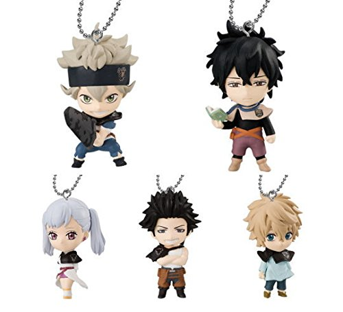 Bandai Black Clover Keychain Figure Collectible Mascot ~1.5