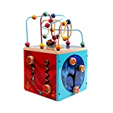 LIUFS-TOY Building Blocks Around The Bead Box Children's Toys 2-3 Years Old Puzzle Boys and Girls Gifts ( Color : Multi-Colored )