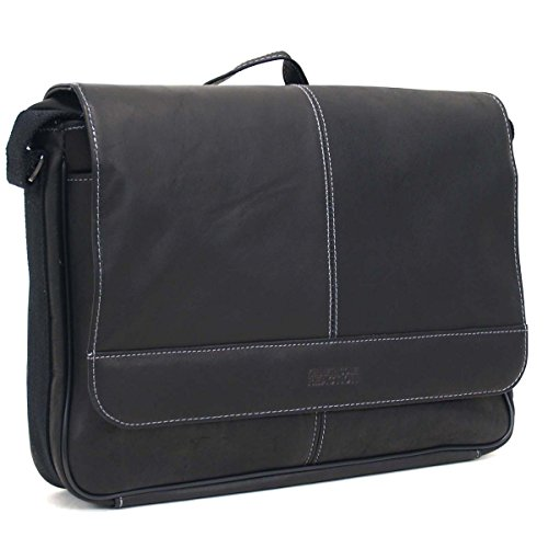 Cross Body Messenger Bag Leather - 6