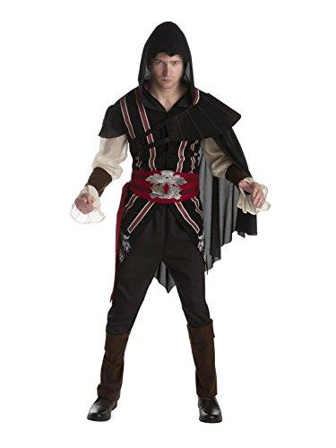 Palamon Assasin's Creed Ezio Auditore Deluxe Adult Costume (L 40)