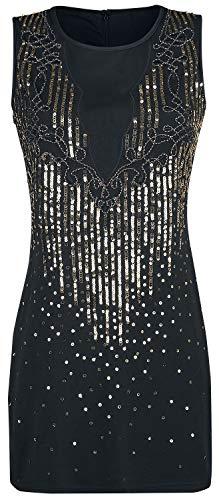 Corto Dancing Dress Sequin Vestido Days Negro pp1Oq
