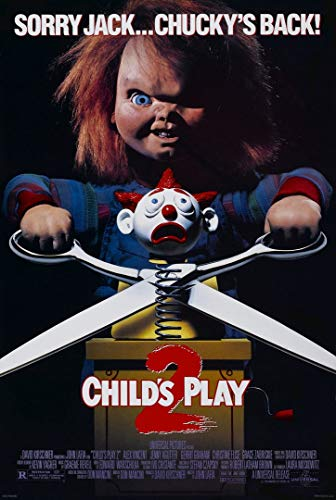 briprints Childs Play 2 Chucky Movie Poster Print Size 24x18 Decoration semi Gloss Paper]()