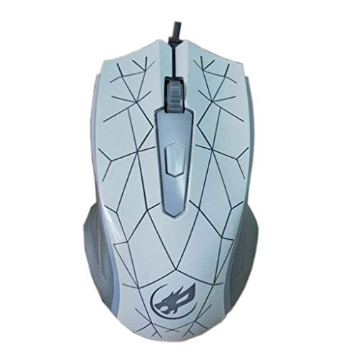 (huoaoqiyegu 2400 DPI USB Optical Gaming Mouse Wired with Side Buttons Gaming Mice Under 20 Dollars for PC Laptop)
