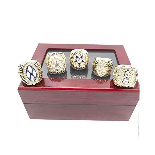 Jasperr Dallas Cowboys Replica Championship Ring Full Set with Display Box Size 11