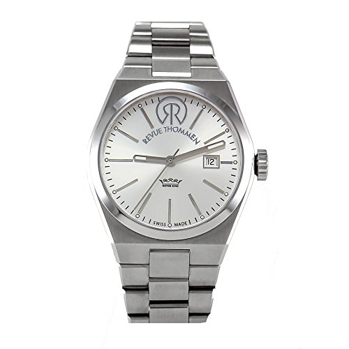 REVUE THOMMEN Women's 108.01.01 Urban Lifestyle Analog Display Swiss Automatic Silver Watch