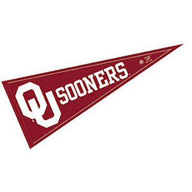 "OU Sooners Pennant and 12"" X 30"" NCAA Banner"