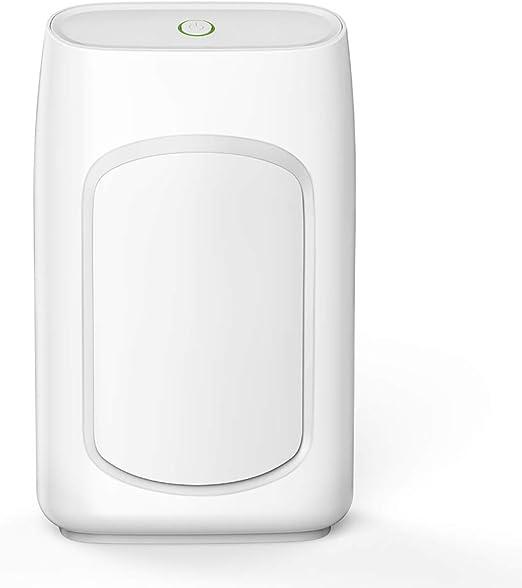 LINLIN Deshumidificador eléctrico purificador de Aire a Prueba de Humedad, Ultra silencioso, portátil, absorbedor de ...