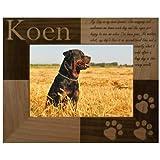 """Personalized """"My Best Friend"""" Dog Photo Frame - 4 x 6"""