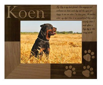 personalized my best friend dog photo frame - Dog Frame