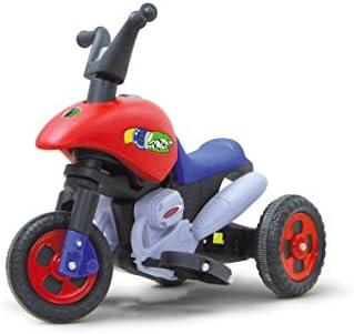 Jamara 404771 - Ride-on E-Trike 6V mit Richtungsschalter - extra starker Bürstenmotor, Ultra-Gripp Ring am Antriebsrad, Stahlhinterradachse, kurz untersetztes Getriebe für kräftigen Vortrieb
