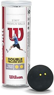 Wilson Bolas de squash Staff (pacote com 3)