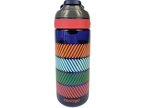 Contigo Auto Seal Courtney Kids Water Bottle, 20-Ounce, Oxford Blue (Styles May Vary)