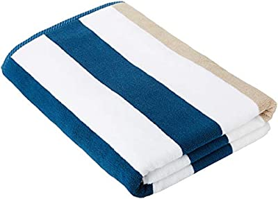 Oversized Plush Cabana Towel by Laguna Beach Textile Co, Classic, Beach and Pool House Towel