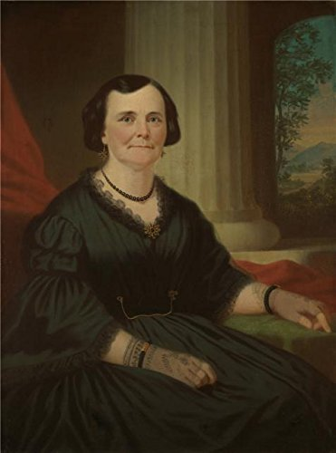 Oil Painting 'George Caleb Bingham,Mrs. Benoist Troost,1859', 8 x 11 inch / 20 x 27 cm , on High Definition HD canvas prints is for Gifts And Gym, Kids Room - Hudson Bingham