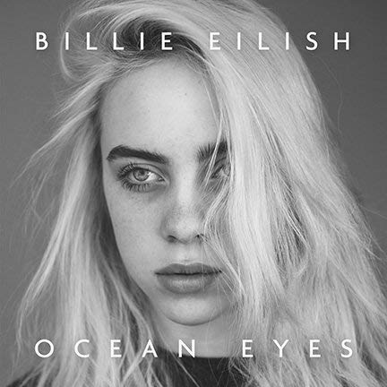 By Be the Bestest Cover Poster Thick Billie EILISH: Ocean Eyes Limited 2018 giclee Record LP Reprint 12 x 18 Inch Poster Rolled ()