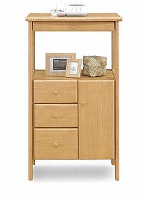 キャビネット 完成品 幅50cm ナチュラル ブラウン ホワイト 白 木製 (ナチュラル) B076KTLNX4 ナチュラル ナチュラル