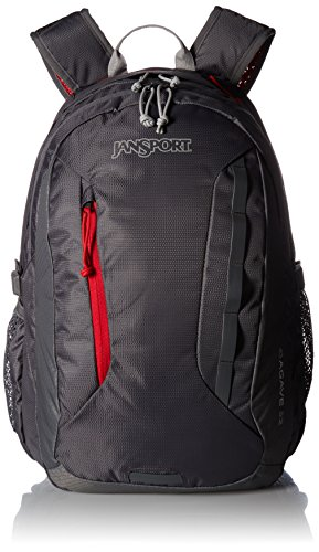 JanSport Agave Laptop Backpack Forge Grey