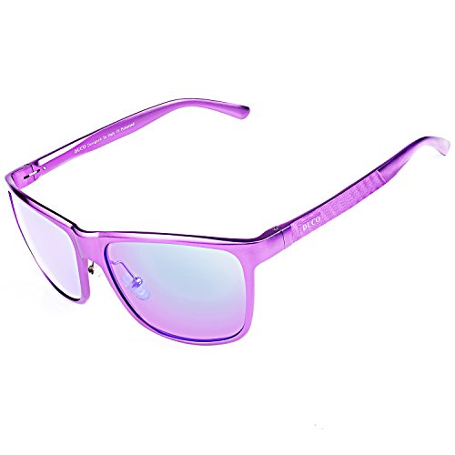 Violet lunettes de Duccom polarisées pilote Lunettes sports Violet Duco 8200 style q4pwS