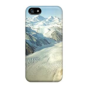Durable Case For The Iphone 5/5s- Eco-friendly Retail Packaging(beardmore Glacier)