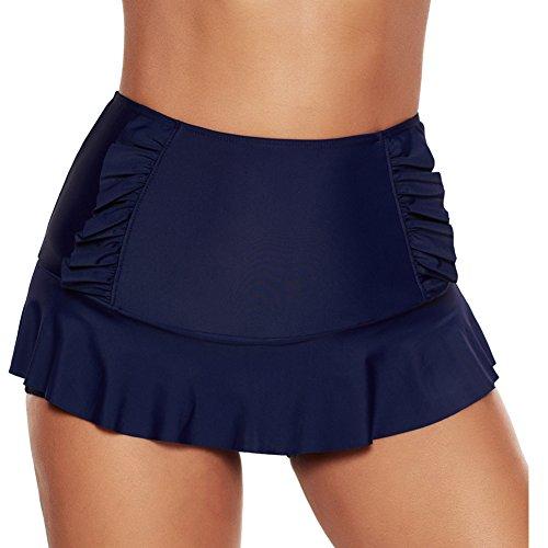 iBaste - Short - Femme bleu fonc