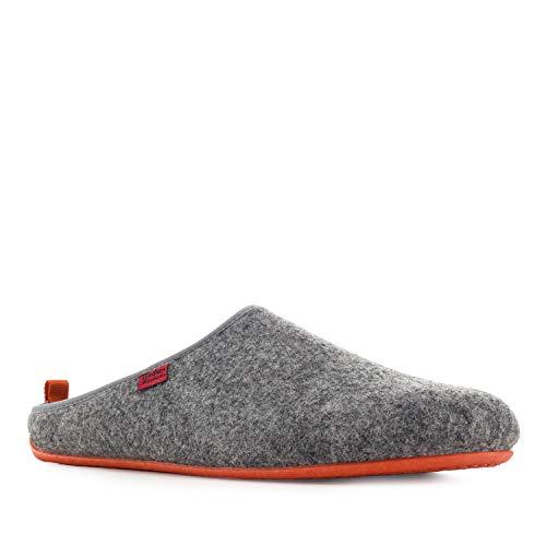 Grey Sandalias Slippers Hombre Andres Felt Machado twS6Z5aq