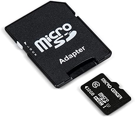 Micro Center 32GB Class 10 Micro SDHC Flash Memory Card with Adapter (2 Pack)