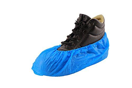 RMB desechables trabajo revestimiento de zapato azul 100O. 200Unidades en el paquete extra fuerte 5G