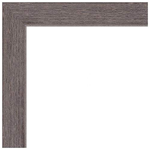 ArtToFrames 14x17 inch Gray Rustic Barnwood Wood Picture Frame, 2WOM0066-77900-YGRY-14x17, 14 x 17'', by ArtToFrames (Image #9)