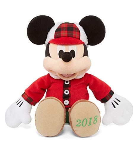 Disney Mickey Mouse Christmas 2018 Holiday Plush (13.5 Inches) ()
