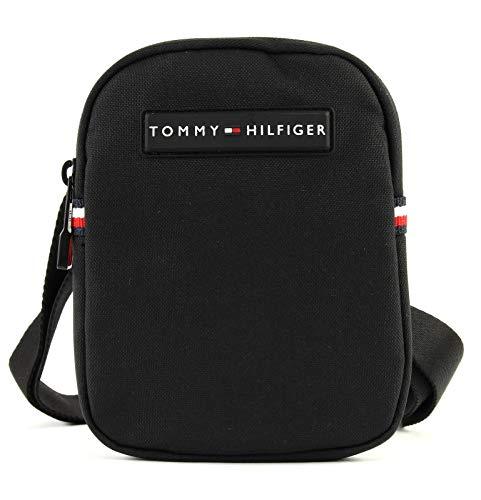 Tommy Hilfiger Compact Crossover, Men's Laptop Bag, Black, 2x17x13 cm (B x H T)
