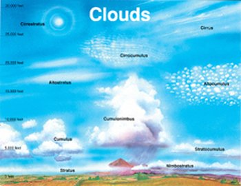 FRANK SCHAFFER PUBLICATIONS CHART CLOUDS17 X 22 ()