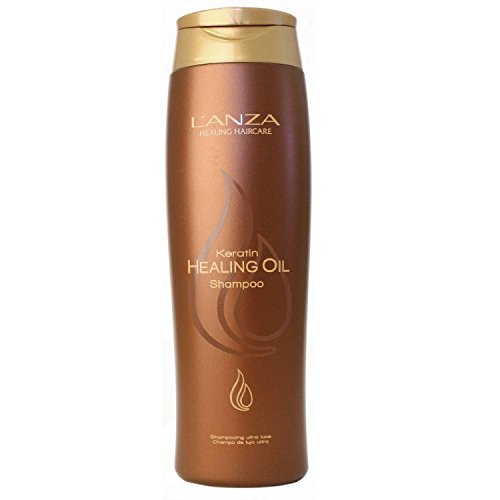 Keratin Healing Oil Lustrous - Color Care Shampoo Healing Lanza