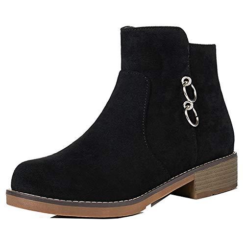 Petit Bottines Easemax Classique Chaussure Outdoor Montante Talon Femme  Noir 1qIHWwgq ... 0cbf7bea93f5
