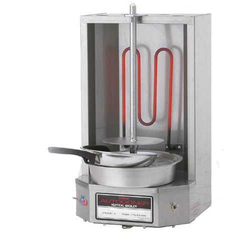 120 Volts Optimal Automatics 3PEM Mini Autodoner 12 lb. Vertical Broiler - Electric by Optimal Automatics
