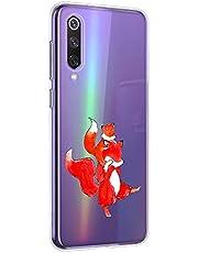 Oihxse Compatible con Huawei P9 Plus Silicona Funda Transparente Gel TPU Flexible Protectora Carcasa Dibujos Elefante Patrón Ultra Thin Estuche Cover Case(A3)
