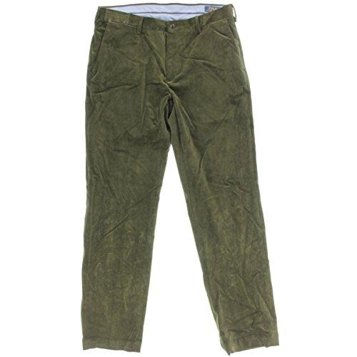 Polo Ralph Lauren Mens Classic Fit STRETCH Corduroy Pants Green 32/30