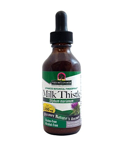 Nature's Answer Milk Thistle Seed Vegetarian Capsules, 120-Count