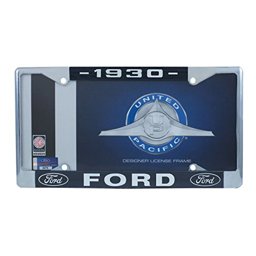 United Pacific A9049-30 License Plate Frame