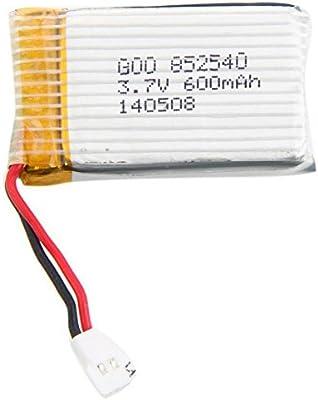 Souked Alta calidad mejorada de la batería Syma x5C X5 3.7V 600mAh 25C Lipo: Amazon.es: Juguetes y juegos
