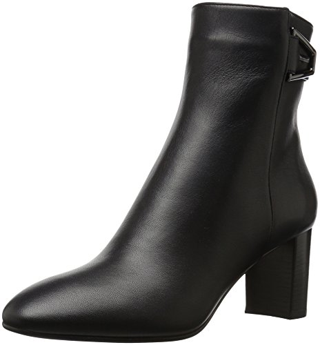 Aquatalia Women's Venezia Grainy Calf Ankle Boot, Black, 7.5 M M US
