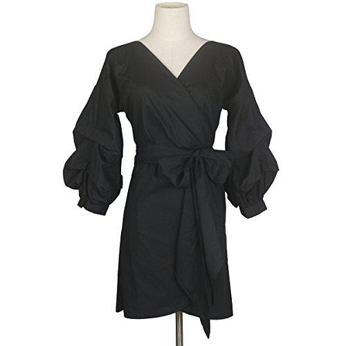 Puff Sleeve Dress - 8