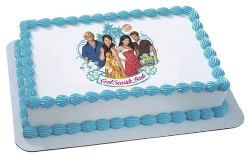 Teen Beach Movie Seaside Bash Edible Cake Topper Decoration