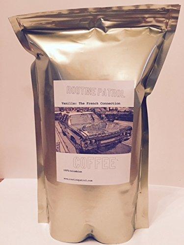 Routine Patrol Organic Coffee Vanilla Nut Ground, Medium Roast