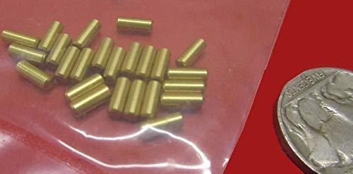 "20 Pieces Brass Dowel Shear Pins 1//8/"" Dia x 3//4/"" Length"