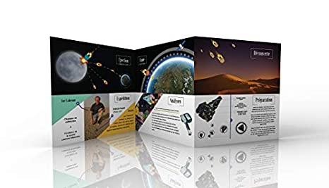 Fragment de la Lune format /« Collection /» D/écrochez la Lune avec certificat XL