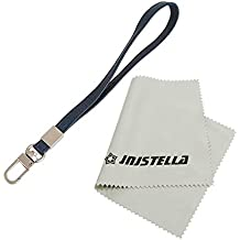 Leather Hand Wrist Strap Lanyard for Cell Phone Camera ipod mp3 mp4 USB Flash Drive ID Badge holder Key (Navy)