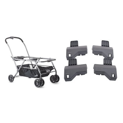 JOOVY Twin Roo+ Car Seat Stroller and Twin Roo Car Seat Adapter, Graco by Joovy