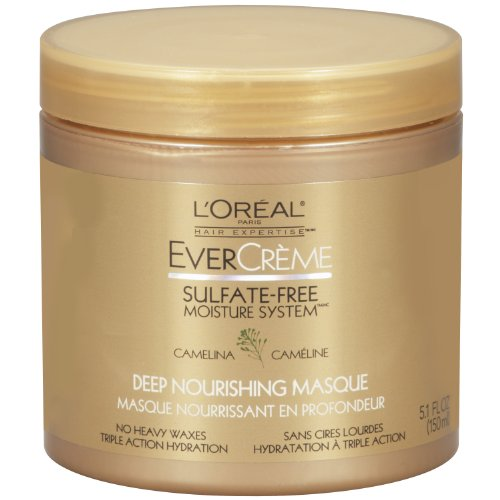 l 39 oreal paris evercreme sulfate free moisture system deep nourishing hair masque 5 1 fluid. Black Bedroom Furniture Sets. Home Design Ideas